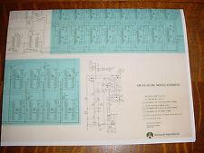 "Rockwell AIM-65/40 6502 CPU 40 Column Mainboard Schematic  Reprint - 24"" x 18"""