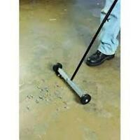 Roller Magnet Floor Sweeper 14.5 Wide 32 Long Handle