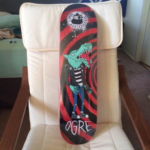 Ogre skateboard 8.5 x 32 Deck Only