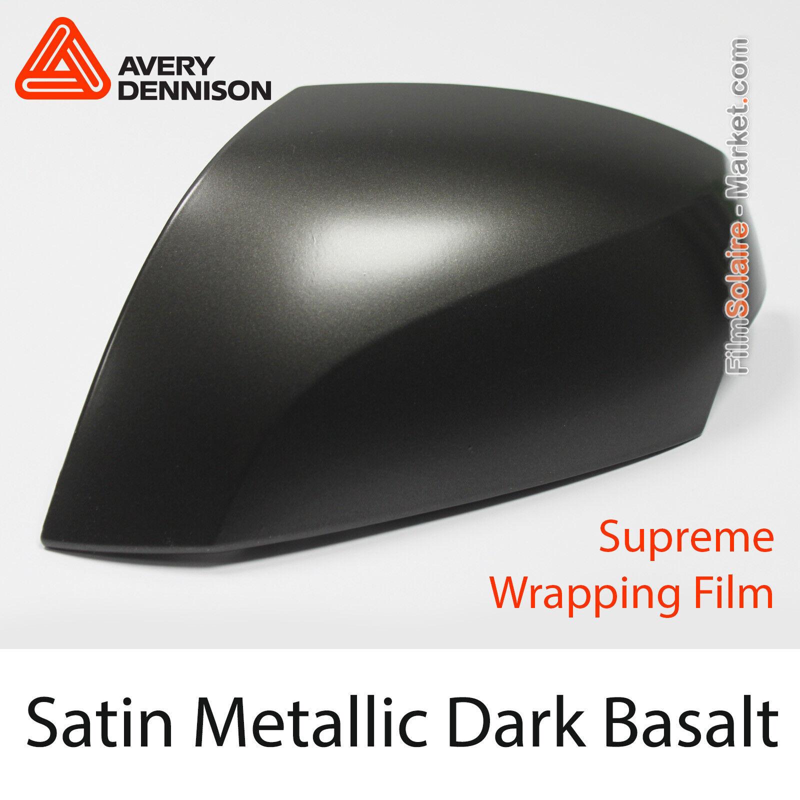 Satén Metálico Dark Basalt, Avery Dennison Supreme Vinil Lámina, Bp1090001