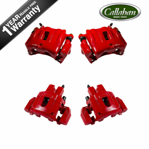 Front+Rear Brake Calipers For 1999 2000 2001 2002 2003 2004 JEEP GRAND CHEROKEE