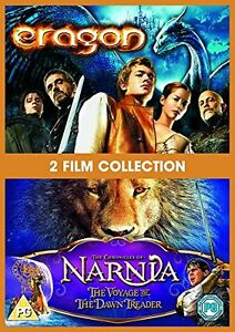 The-Chronicles-Of-Narnia-The-Voyage-Of-The-Dawn-Treade-Eragon-DVD-Region-2