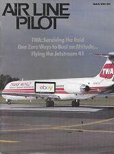 TWA TRANS WORLD MD-82 MSP AIRPORT AIRLINE PILOT MAGAGINE 3/1993 SURVIVING RAID