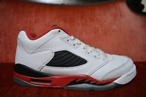 CLEAN Nike Air Jordan 5 Retro Low GS Fire Red Men s Sneakers 314338 ... 9b96ebcca