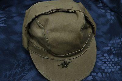 Star ☆ ☆ Original Soviet Russian Army Summer Uniform Cap Afghanistan Afghanka