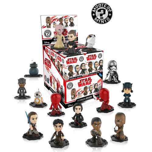 compras en linea Estrella Wars Episode VIII The Last Jedi Mystery Mystery Mystery Minis WM US Exclusive Blind Box x12  Las ventas en línea ahorran un 70%.