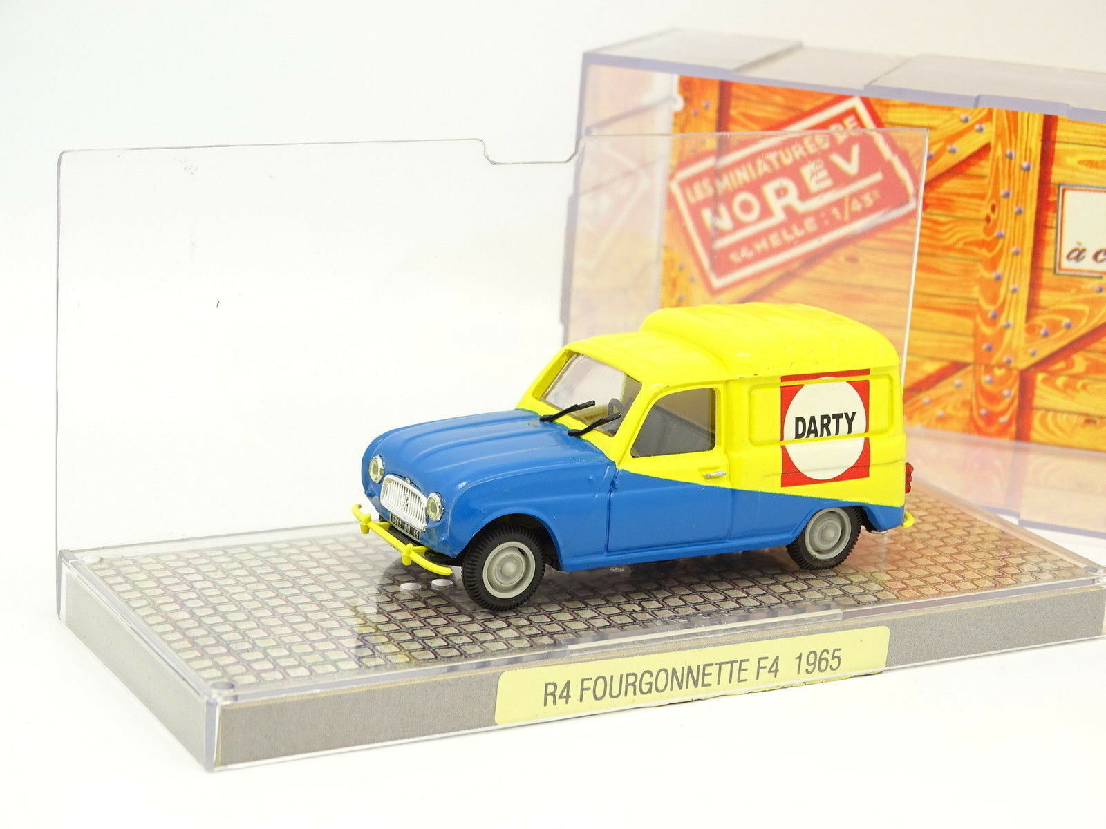 Norev 1 43 - Renault 4 4L F4 Darty 1965
