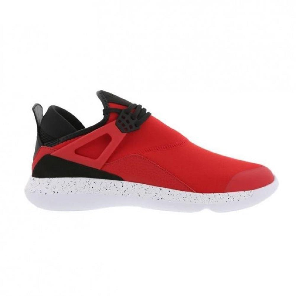 Mens NIKE JORDAN FLY 89 Red Textile Trainers 940267 601