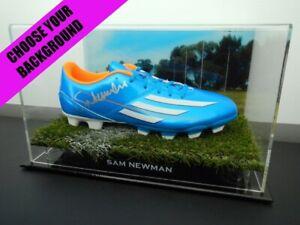 Signed-SAM-NEWMAN-Football-Boot-PROOF-COA-Geelong-Cats-AFL-2020-Jumper
