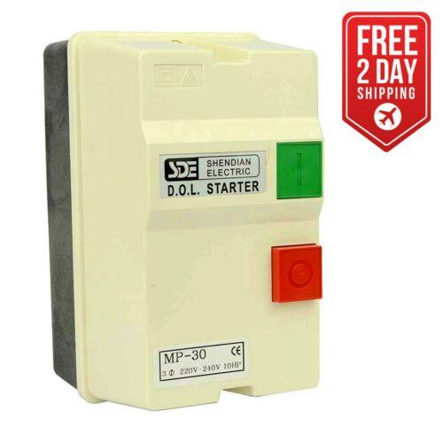 10-HP 22-34-Amp Magnetic Switch 18839 3 Phase 50HZ @ 240V /& 60HZ @ 220V
