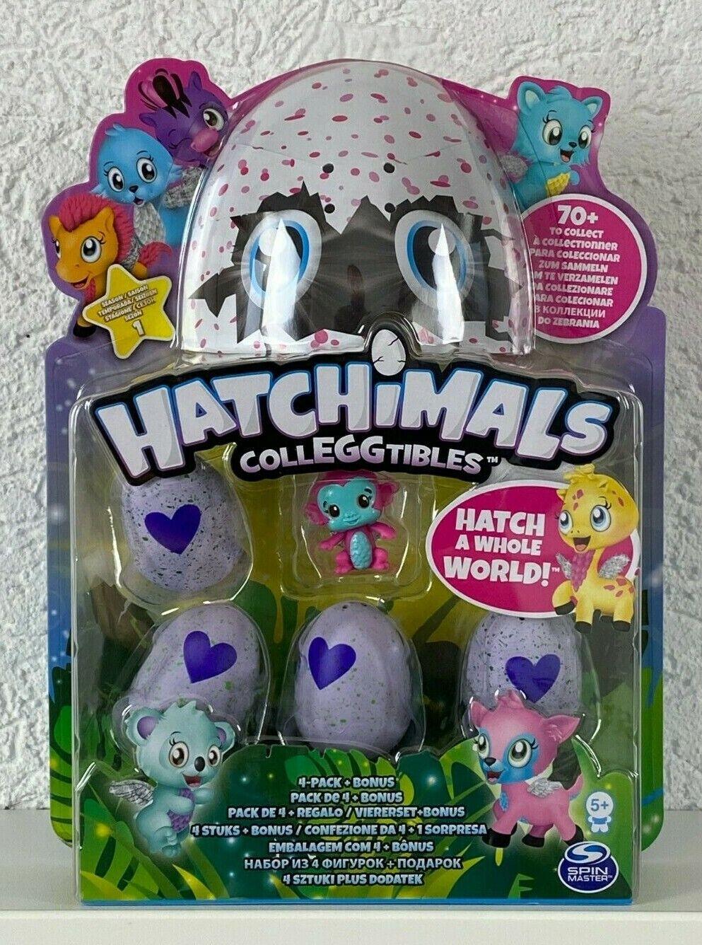 Hatchimals CollEGGtibles diverse Sets Packungen zur Auswahl S1 S2 S3 S4 4er 10er