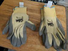 Two Pairs Of Dupont G Tek Kelvar Rubber Coated Gloves 09 K1250 Xxl