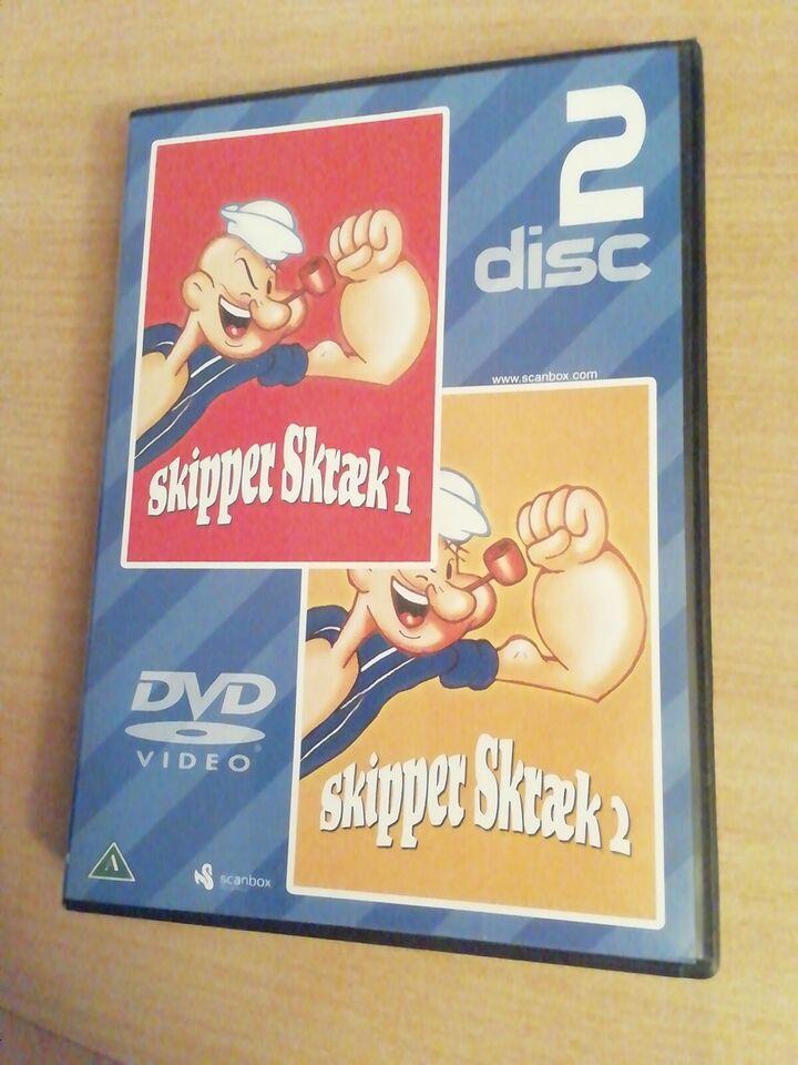 Skipper skræk, DVD, tegnefilm