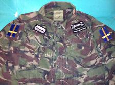 Shining Black Metal Camouflage DPM XL Army Jacket Halmstad Sweden Angst DSBM IX