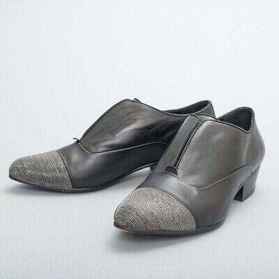 Dolce Vita Black Leather Semi-Formal