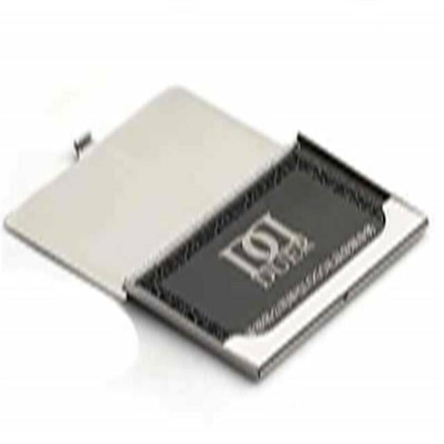 Top Stainless Steel Pocket Name Credit ID Business Card Holder Box Metal Case