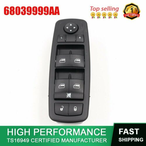 For Chrysler Town /& Country Dodge Grand Caravan 2008-2009 Master Window Switch