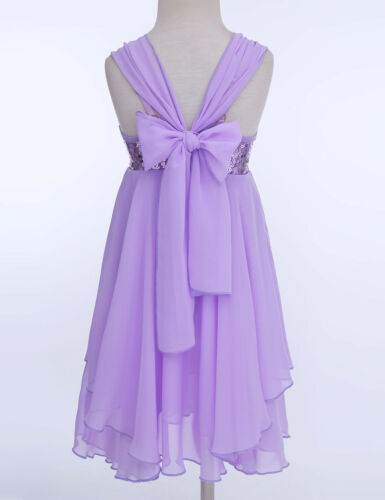 Girl Sequin Ballet Leotard Dress Kid Lyrical Latin Dance Wear Gymnastics Costume