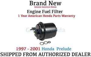 genuine oem honda prelude fuel filter 1997 2001 (16010 st5 e02) ebayimage is loading genuine oem honda prelude fuel filter 1997 2001