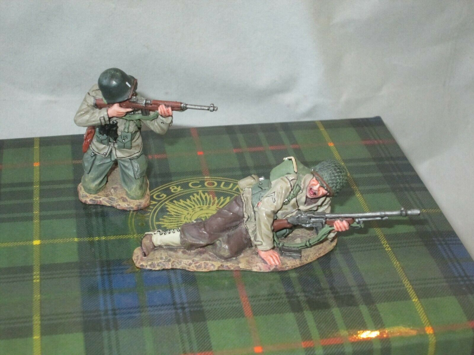 KING & COUNTRY D DAY 1944 US US ARMY 1ST INF DIV I NEED MORE AMMO 1 30  DD099