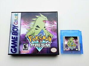 Pokemon-Prism-Game-Case-v0-94-b235-Game-Boy-Color-GBC-Fan-Made-USA-Seller