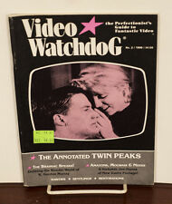 VIDEO WATCHDOG ISSUE #2 TWIN PEAKS NM/MINT