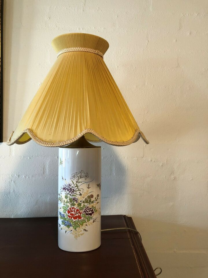 Anden bordlampe, Fine China, Japan