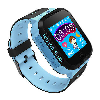 Anti-lost Kids Children GPS Tracker SOS Call Smart Wrist Watch Phone IOS Android