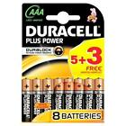 Duracell Plus 5 3 AAA Batteries - 8 Pack