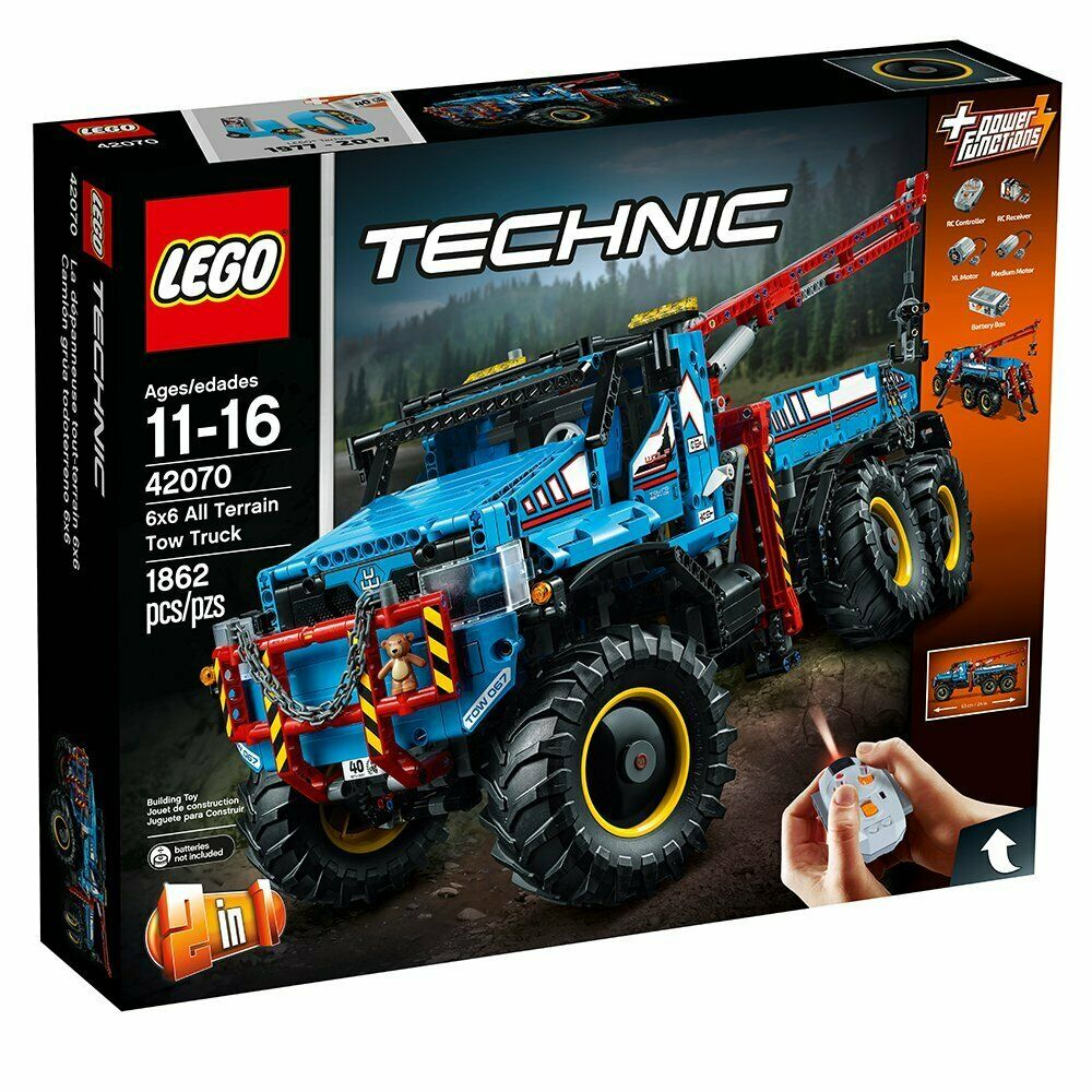 LEGO Technic 42070 6x6 All Terrain Tow Truck - New New New sealed - Intl 7dd366
