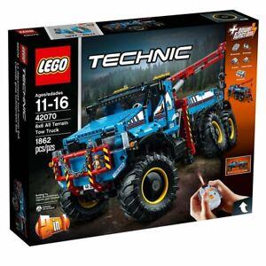 Lego Technic 42070 La Dépanneuse Tout-terrain 6x6 - Neuf Scelle / New Sealed