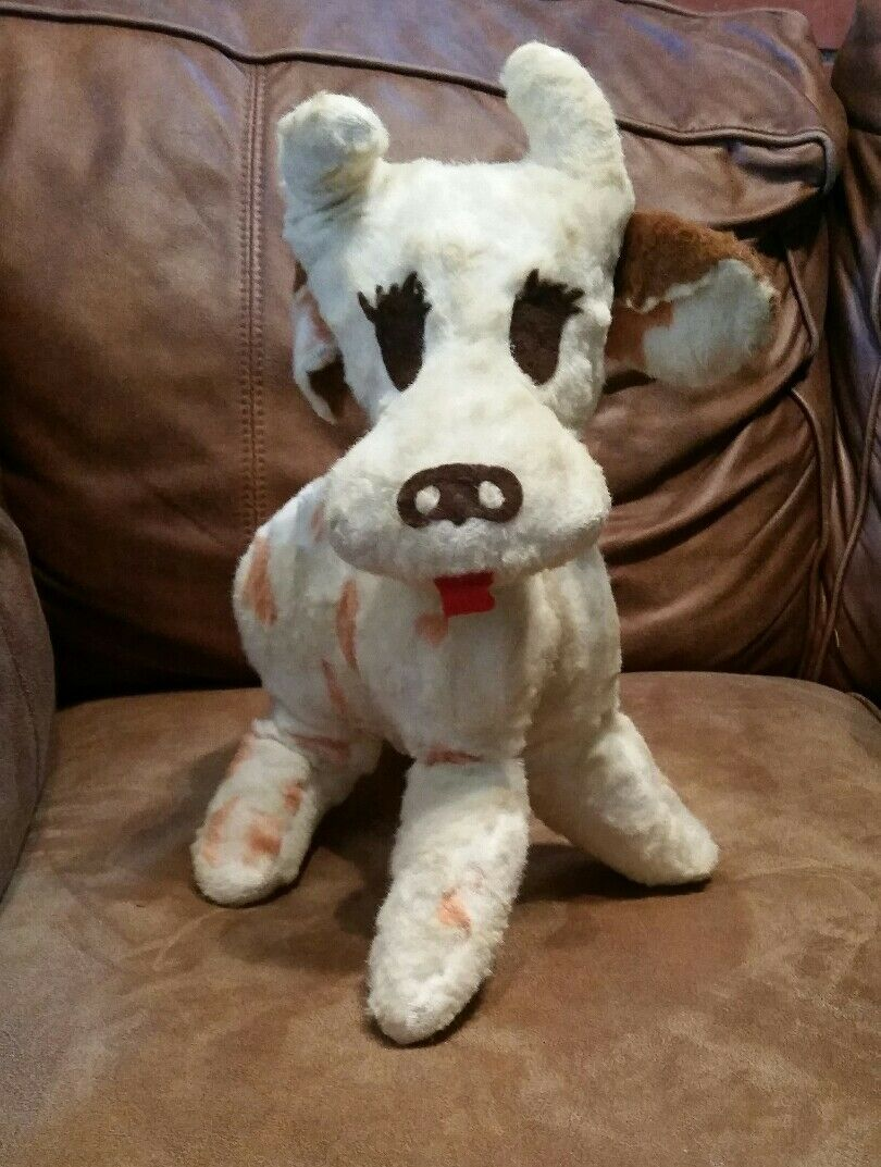 Cow stuffed animal Charm Originals Inc. New York, USA Vintage rare plush toy