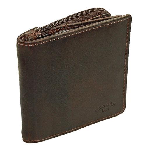 Branco Herren Geldbörse Leder Herrenbörse Gelbeutel Dollarclip Geldclip 50795