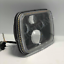 """thumbnail 3 - 1 Pair, Black LED JTX Headlights, 5x7"""", White Halo, Flashes Amber, suits Hilux"""