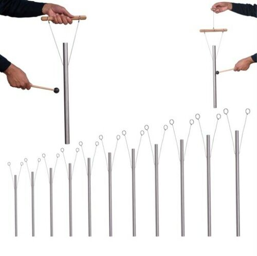 11 Mineral Nutrients Healing Tuned Pipe with Hand Stand louder than Tuning fork