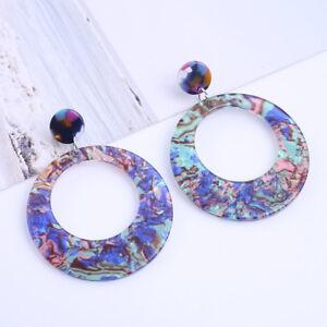 Hollow-Round-Acrylic-Earrings-Geometry-Resin-Drop-Earrings-Women-Jewelry