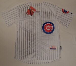 Image is loading MAJESTIC-CHICAGO-CUBS-SEWN-23-SCATURRO-BASEBALL-JERSEY- 623d1ef60