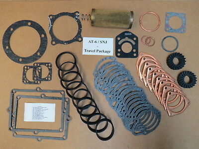 Pratt /& Whitney Aircraft R-1340 Engine Rocker Box Covers With Gaskets SNJ AT6