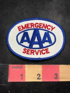 AAA-EMERGENCY-SERVICES-Advertising-Uniform-Patch-American-Automobile-Assn-00YD