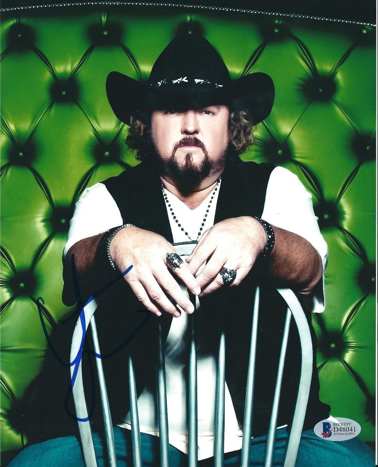Colt Ford Signed 8x10 Photo *Dirt Road Anthem *Country Rapper BAS D48041