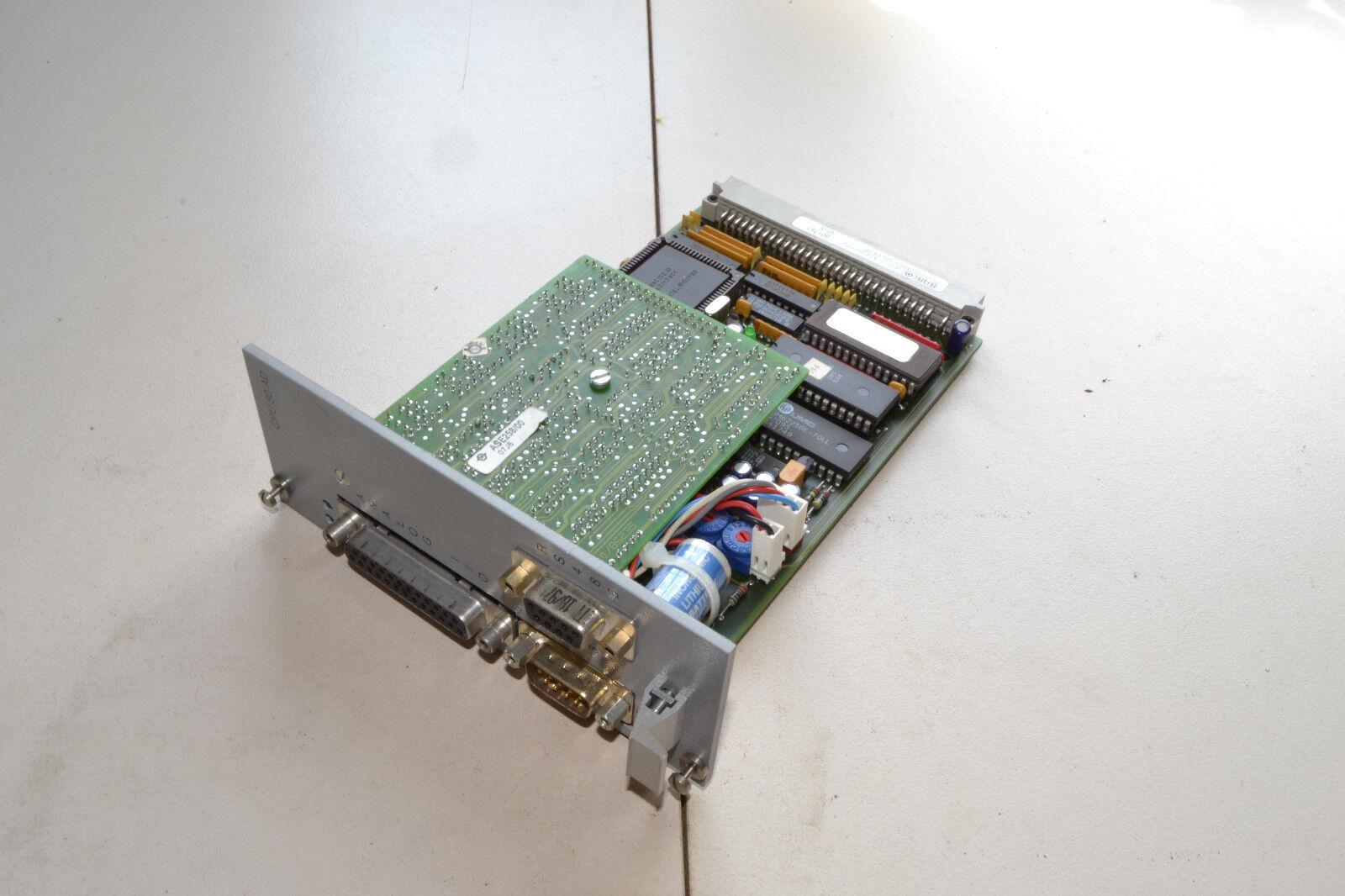 BARCO Sedo / / / PLC 50ad Tableau CPU / Type:ase2561 / 258d / très bon état 89bc87