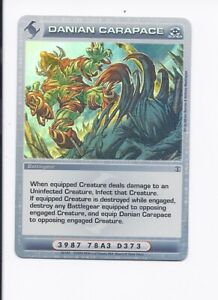 Chaotic Card Danian Carapace ccg tcg