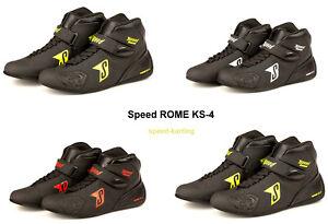 Speed-Kartschuhe-ROME-KS-4-Top-Modell-Kart-Schuhe-Karting-Groessen-36-46