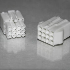 12 vie 4.5mm MASCHIO FEMMINA CONNETTORE SPINA Automotive Imbracatura TERMINALE