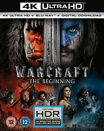 WARCRAFT (4K UHD+BD+UV+BLIZZARD) RT VERS [Blu-ray] [2017] [DVD][Region 2]