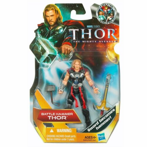 THOR Movie Battle Hammer Thor Figurine Marvel Comics NEUF # 01
