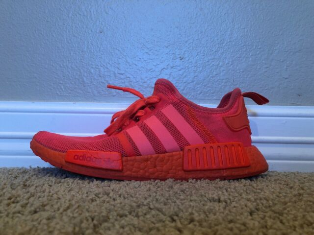 289ee217f9a1a Adidas NMD R1 Triple Solar Red S31507 Size 9 RARE Hard to Find