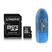 Kingston 8GB 8G Class4 Micro SD Micro SDHC TF Flash Memory Card + Reader