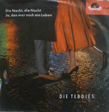 "7"" 1958 POLYDOR RARE IN VG+++ ! DIE TEDDIES : Die Nacht"