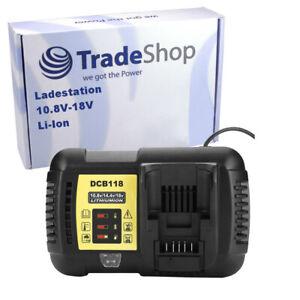Akku Ladegerät Ladestation 10,8V-18V Li-Ion für Dewalt DCL510 DCT414S1 DWMTCIR20